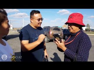 Случайная встреча туристов из Китая в Карабалыке