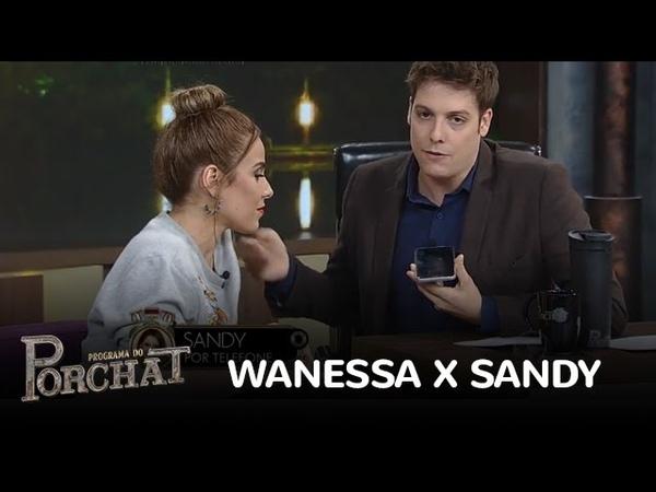 Wanessa e Sandy negam rivalidade: 'É tudo falação'
