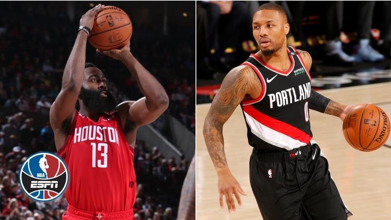 James Harden's 38 points fall short against CJ McCollum and Trail Blazers | NBA Highlights