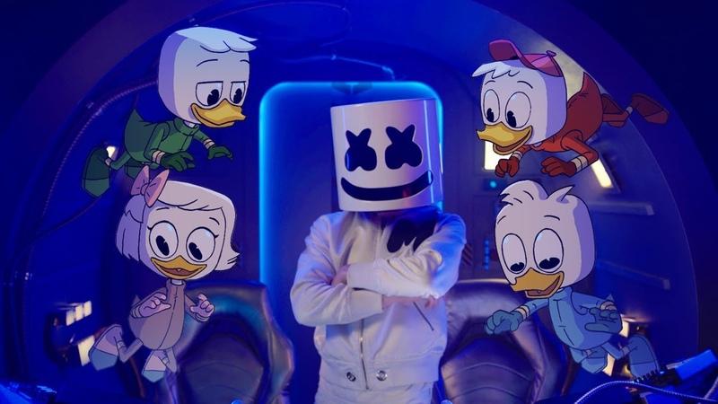 Marshmello x DuckTales FLY Music Video