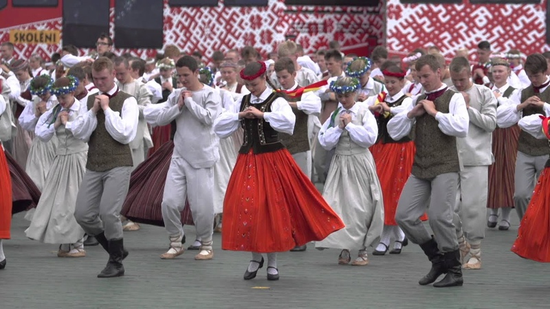 Tautas deju kolektīvu lielkoncerts Līdz varavīksnei tikt (studios08)