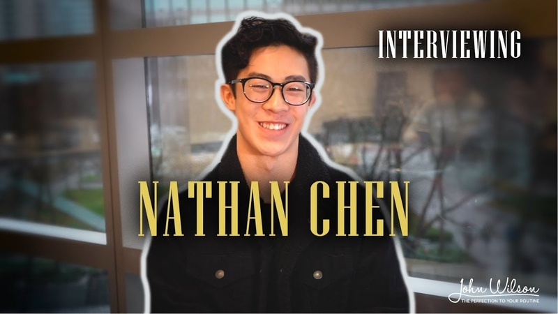 NATHAN CHEN EXCLUSIVE INTERVIEW by John Wilson Blades