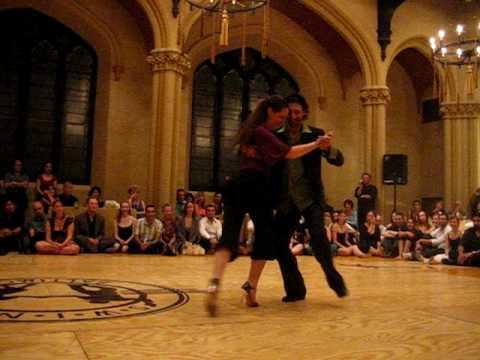 Yanick Wyler and Sigrid Van Tilbeurgh @ Baltimore 2009 MVI 4319