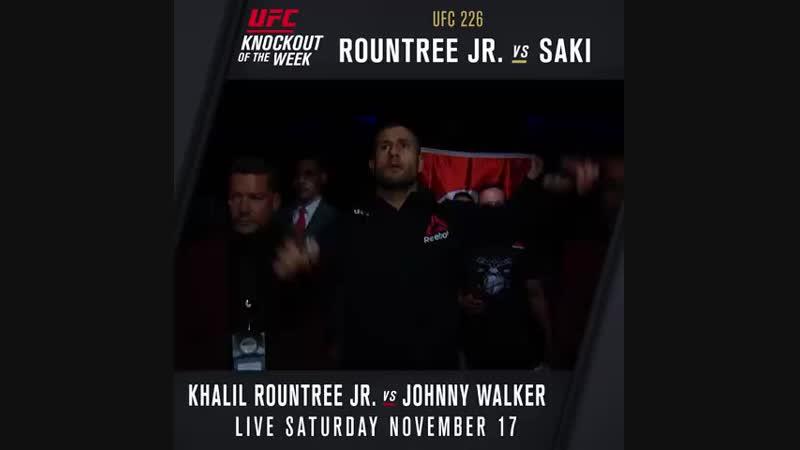 UFCArgentina Khalil Rountree Jr