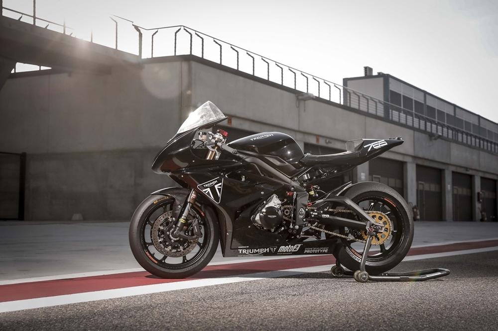 Мотоцикл Triumph Daytona Moto2 765 Limited Edition выпустят в ограниченном количестве