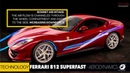HOW ITS MADE - NEW Ferrari 812 Superfast V12 800 HP AERODYNAMICS