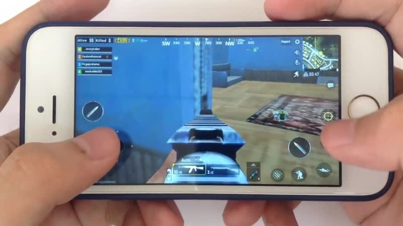 [LynnKacy] iPhone 5s: Gaming Performance Test in 2018 - PUBG Gameplay
