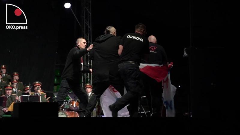 Попытка украинских бабуинов сорвать концерт в Польше