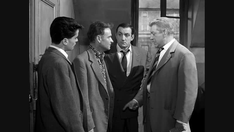 Мегрэ расставляет сети Maigret tend un piège 1958 реж. Жан Деланнуа в ролях Жан Габен Анни Жирардо Лино Вентура