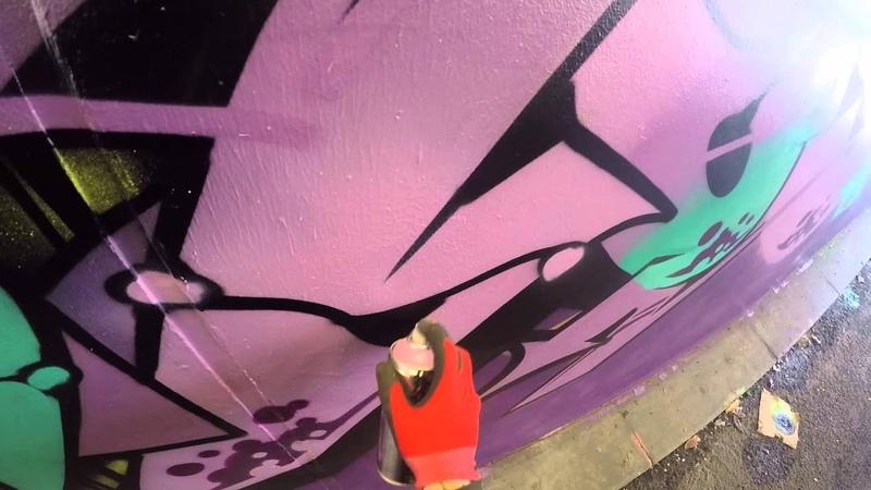 Graffiti - Ghost, Osek, Zem, Deets EA Crew - Whole Crew Take Over