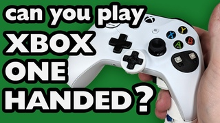 Single Handed XBox One Controller
