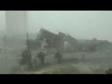 В эпицентре урагана Майкл (США, штат Флорида, 10 октября 2018).