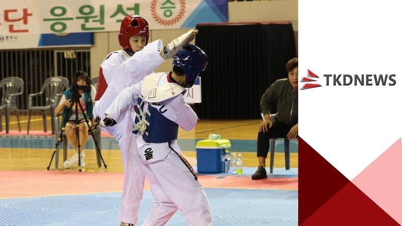[소년체전]남자 중등부 -41kg급 준결승 박태준(서울)vs류진(대전)