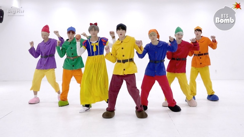 BANGTAN BOMB '고민보다 GO GOGO ' Dance Practice Halloween ver BTS 방탄소년단