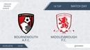 Bournemouth A.F.C. 1:6 Middlesbrough F.C., 19 тур (Англия)