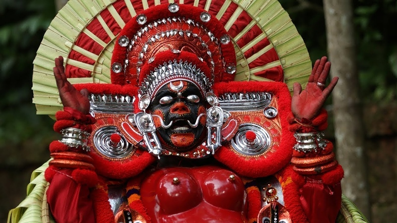 Karinkaali Theyyam An evocation to Mother Goddess