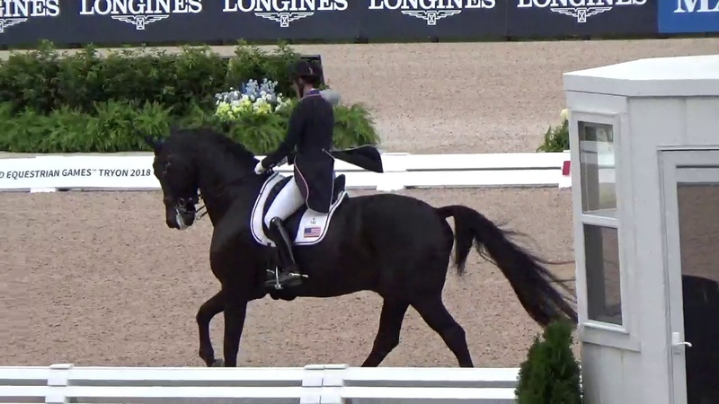 Kasey Perry-Glass Goerklintgaards Dublet_WEG Tryon Grand Prix Special 2018