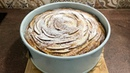 Яблочный пирог Роза высокий пышный красивый простой в исполнении и конечно вкусный