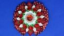 Красивый цветок на зажиме ,МК Канзаши / DIY Beautiful flower on the clip