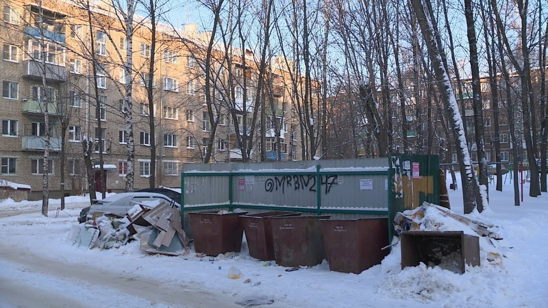 Костромичи продолжают жаловаться на вывоз крупногабаритного мусора