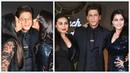 Шахрукх Кхан, Каджол и Рани воссаздают момент из фильма Всё в жизни бывает.