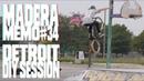 Madera Memo 34: Detroit DIY Session insidebmx