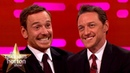 Michael Fassbender James McAvoy Love Smacking Each Other | The Graham Norton Show