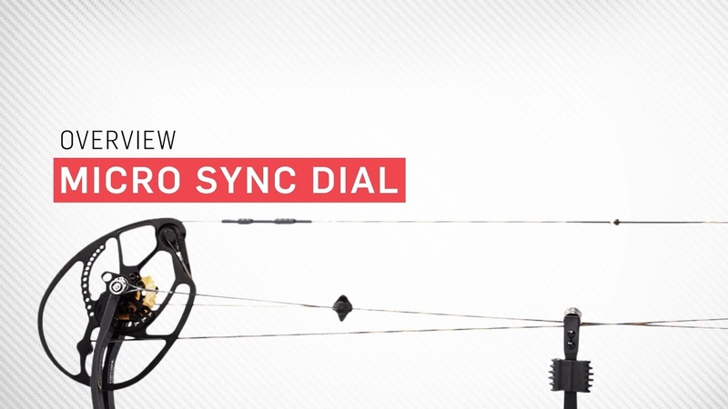 The Micro Sync Dial on Bowtech's SmartBow