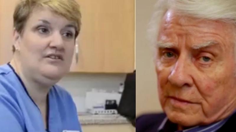 Когда медсестра занялась его раной, пенсионер занервничал. Его история поразила всех...