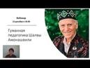 Гуманная педагогика Шалвы Амонашвили