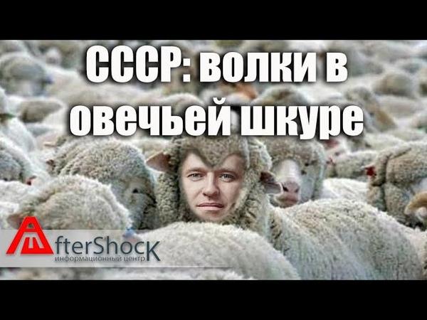 Волк в овечьей шкуре Мемы со знаком минус из СССР