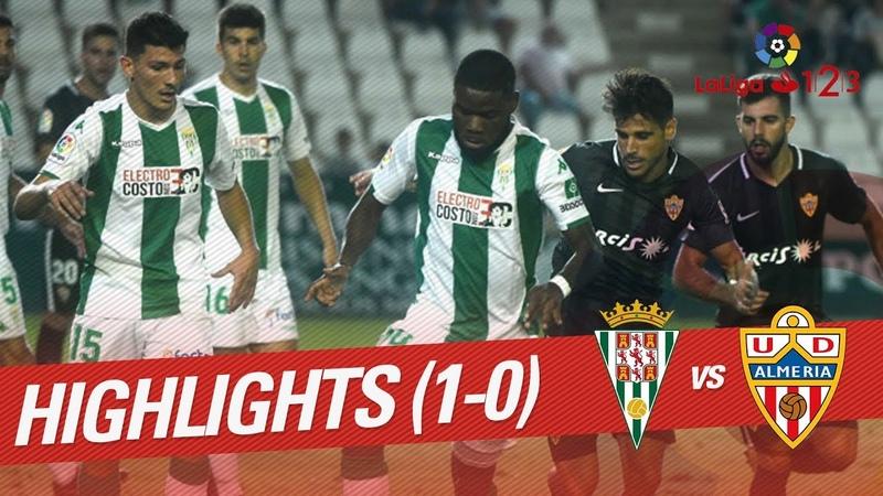 Resumen de Córdoba CF vs UD Almería (1-0)