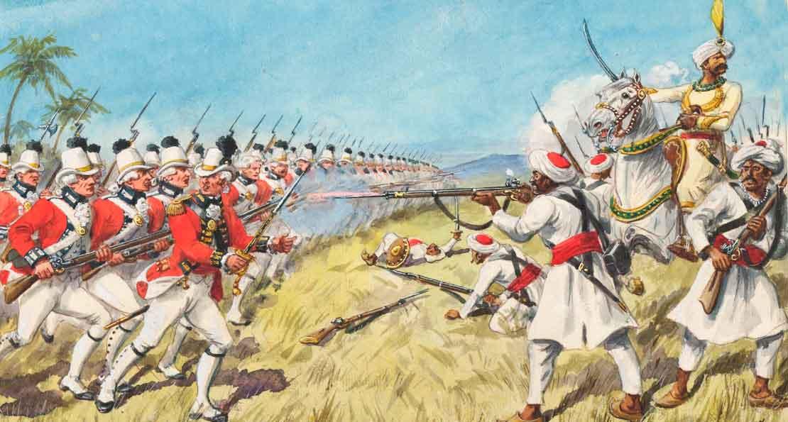 Англичане в атаке