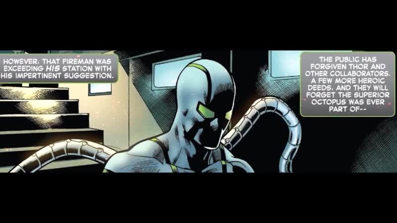 [DheroesC] СМЕРТЬ СОВЕРШЕННОГО ОКТАВИУСА? СПАЙДЕРГЕДДОН 4. MARVEL COMICS.
