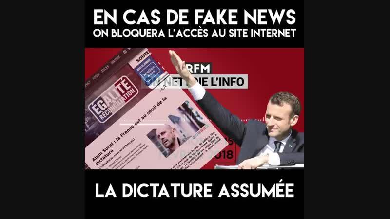 ER National La dictature de Macron est elle décomplexée Chaque mois De Brague amp Korias nettoient l'info et vous la re