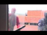 Superhero Window Washers Bring Joy At Children's Hospital