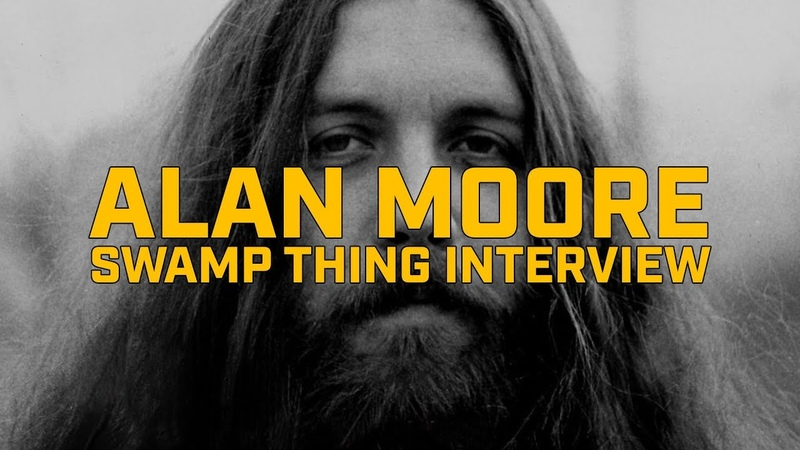 Интервью Алана Мура о Болотной Твари. Alan Moore Swamp Thing Interview.