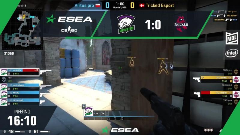 Virtus.pro 1:0 Tricked Esports