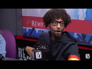 Shoutout to BTS! Y'all going crazy right now! - - @pnbrock is checked in with the @bts_bighit vibe BTSArmy - - interview