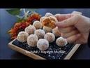 Турецкие морковные шарики с печеньем с грецкими орехами в кокосовой стружке Bisküvili Havuç Topları