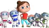 Robot Finger Family (Single Rhyme) Finger Family Song Nursery Rhymes &amp Kids Songs