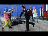 Pussy Riot attacked by Cossacks with whips in Sochi