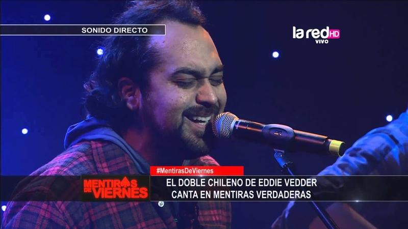 El doble de Eddie Vedder nos canta Black