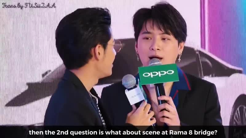 Eng Sub 29 12 18 Cut FastChargingXKristSingto Talk about airport scene in Our Skyy