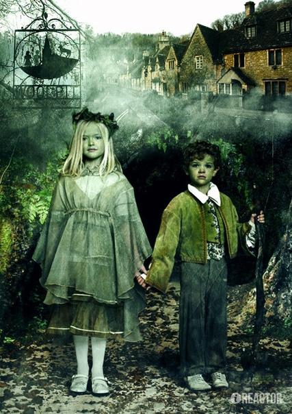Зеленые дети из Вулпита В графстве Суффолк, в Великобритании находится деревушка под названием Вулпит, которая имеет необычную и загадочную историю. Название переводится как «Волчьи Ямы», а на