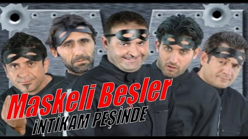 Maskeli Beşler İntikam Peşinde - HD Türk Filmi (Restorasyonlu)