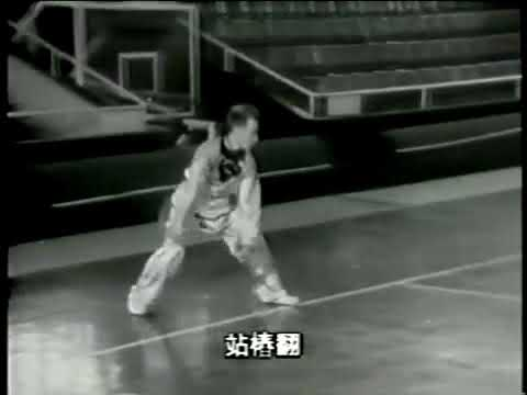 沈阳戳脚翻子拳.Шеньян.Чоцзяо фаньцзы.1979г. показательные выступления в японии.