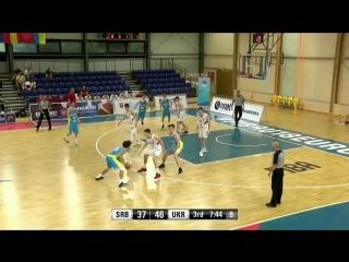 Українець Иссуф Санон Issuf Sanon Евробаскет 2017 Eurobasket FIBA U18 #Санон #Україна #баскетбол #Sanon #Ukraine #basketball