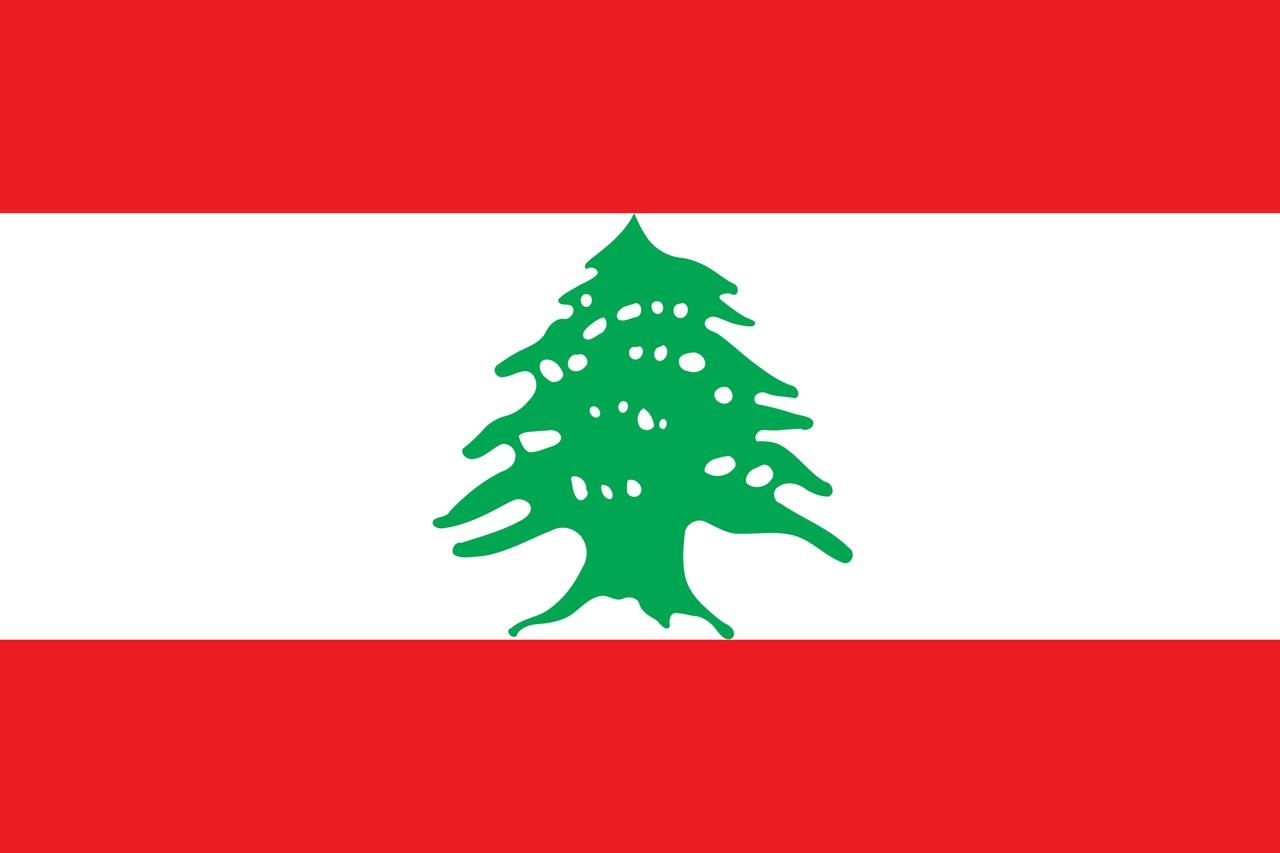 Флаг Ливан