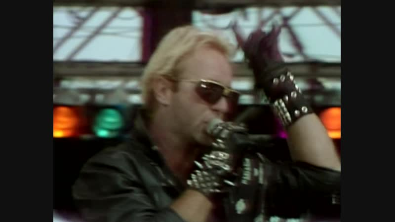 Judas Priest The Green Manalishi with the two Pronged Crown Live Aid '1985